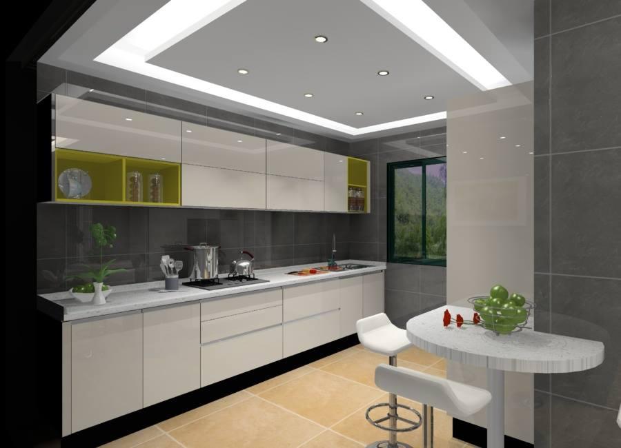Acropolis Model Flat Modular Kitchen