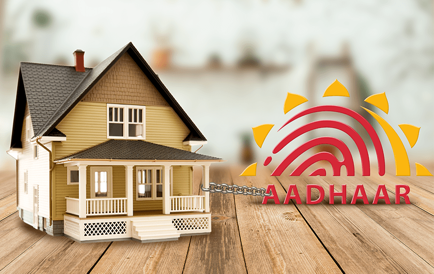 Link Aadhar with property registration
